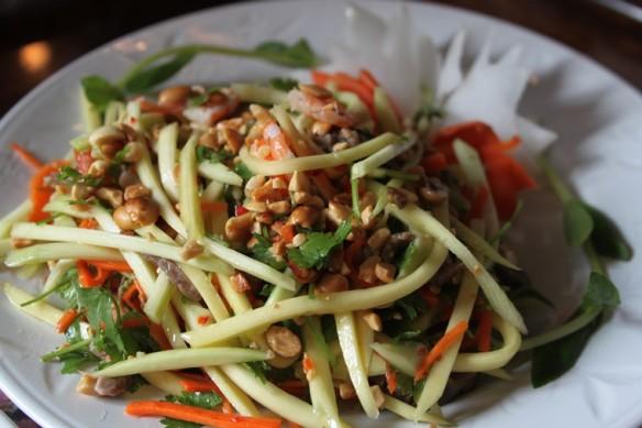 15 green papaya salad
