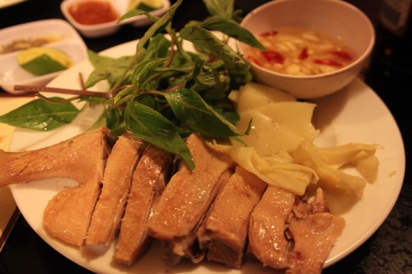 26 steamed duck with bambu shoots