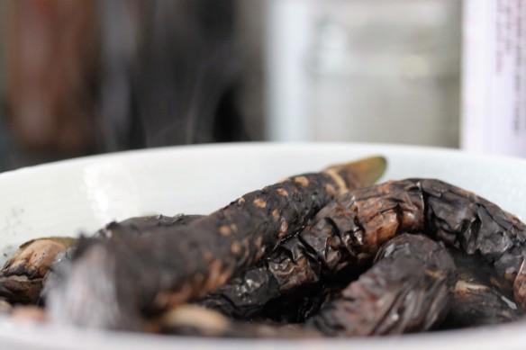 berenjenas quemadas