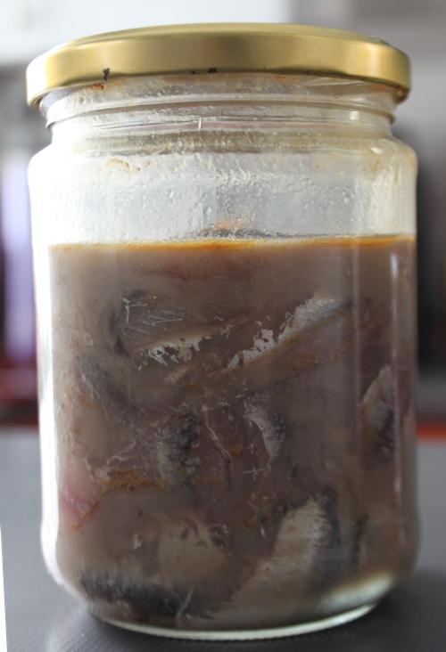 boquerón fermentado 2 semanas