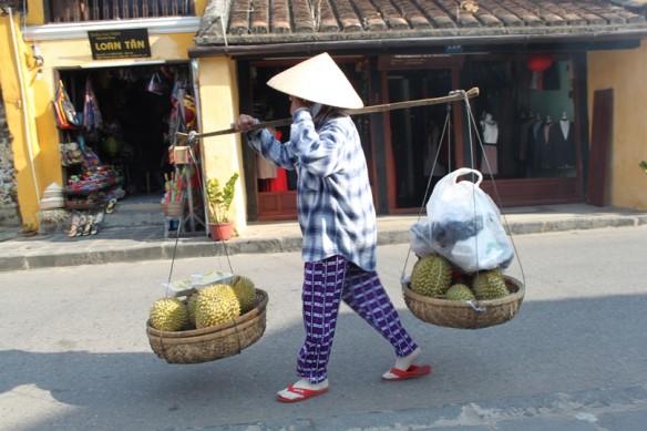 durian! woman