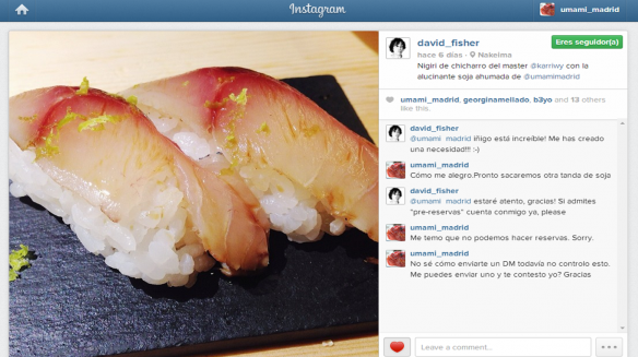 nakeima david fisher nigiri chicharro