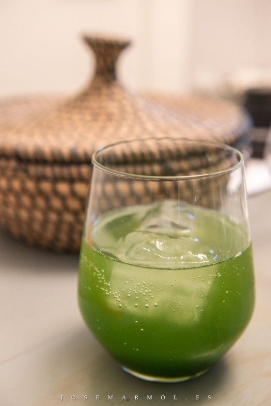 pandan cocktail