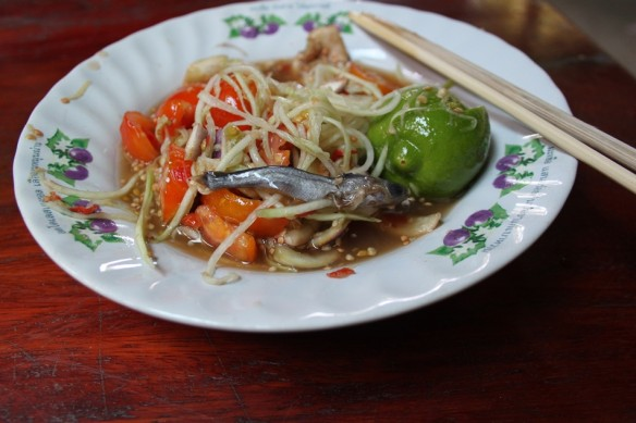 papaya salad padek