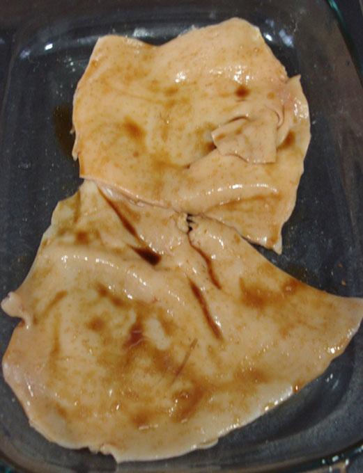 piel cochinillo soja