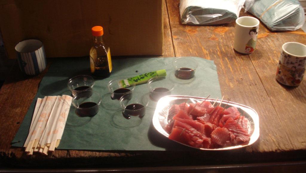 sashimi maguro